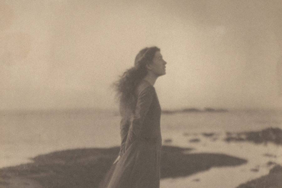 The Sea [Rose Pastor Stokes, Caritas Island, Connecticut], 1909