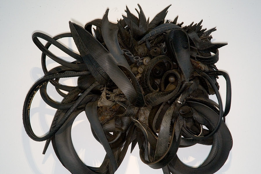 Booker, Chakaia, Urban Butterfly, Rubber tires, 2001. 2004.79