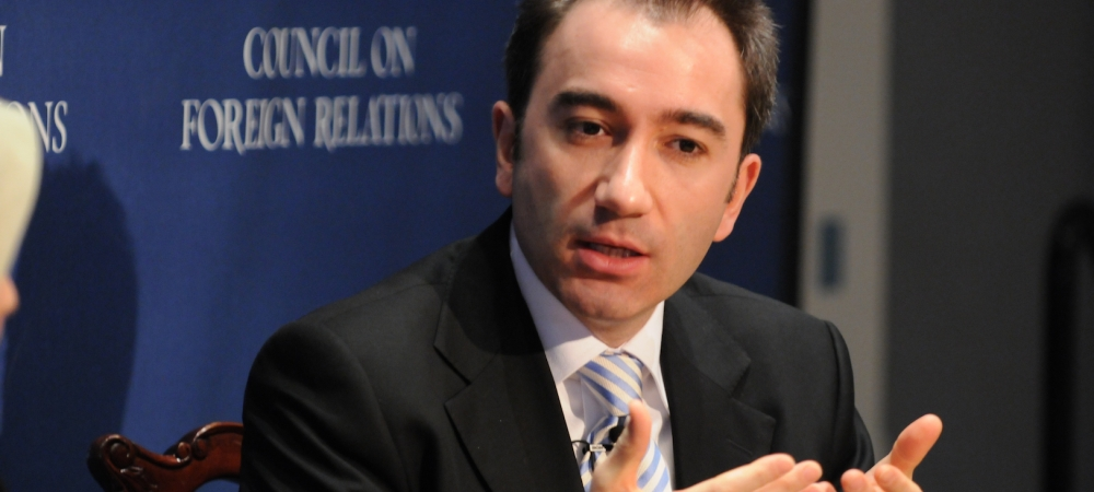 Mustafa Akyol at a conference at the Council on Foreign Relations, New York, 2009.