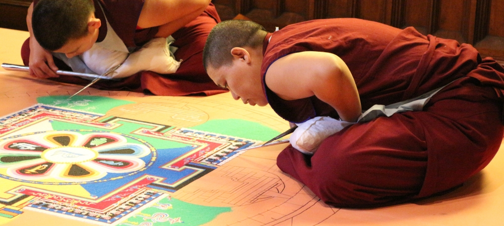 Circles of Healing: Tibetan Sand Mandala Project from 2012