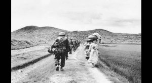 Korean War historical image