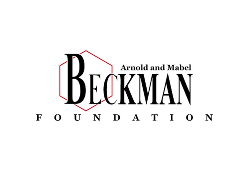 Logo for Arnold and Mabel Beckman foundation.