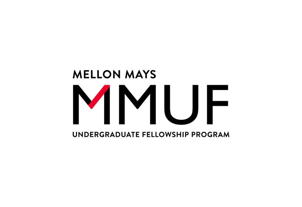 Logo for Mellon Mays Undergraduate Fellowship, with web link