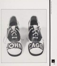 Ray Johnson, Untitled from Prepared Box for John Cage, 1987 Photograph, 8 3/8 in. x 8 in Gift of Carl Solway Gallery, Cincinnati, OH 2008.12.41