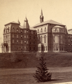 Wellesley College, North Front. Courtesy of Wellesley College Archives.