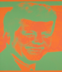 Andy Warhol, Flash – November 22, 1963, 1968. Screen print, sheet: 21 in. x 21 in. Gift of The Andy Warhol Foundation for the Visual Arts, Inc. 2013.73