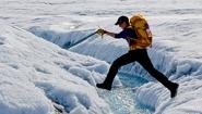 Laura Stevens Glacier Hopping