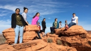 students at the Lake Mead National Recreation Area