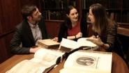 Professors Simon Grote, Hélène Bilis, and Adriana Brook