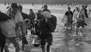 Historical Photo of Korean War Refugees