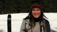 Katherine Di Lucido in ski gear