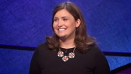 Julia Collins on Jeopardy