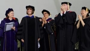 Wellesley trustees applaud Wagner at 2014 commencement