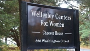 Wellesley Centers for Women sign