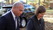 Gov. Patrick and Pres. Bottomly walk side by