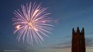 Fireworks at Wellesley college