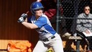 Softball player Jen Migliore '14 steps up to the plate.