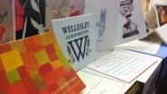 letters and cards wishing happy founders' day to Wellesley