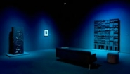 """Louise Nevelson's """"Black"""" installation"""
