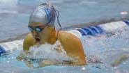 Dorothy Ren racing breaststroke