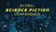 """Global Science Fiction Conference"" text on image from Cloud Atlas"