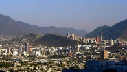 panoramic view of Monterrey
