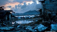 scene of devastation in Philippines