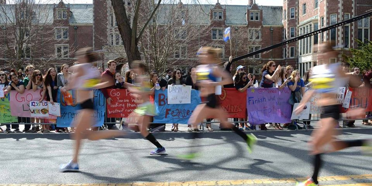 #WellesleyTradition 5: Marathon Monday