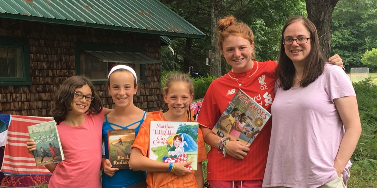 News Highlights View Wellesley College Tony Perotti Sandals Brooks Orange 42 Professor Encourages Summer Campers Love Of Reading