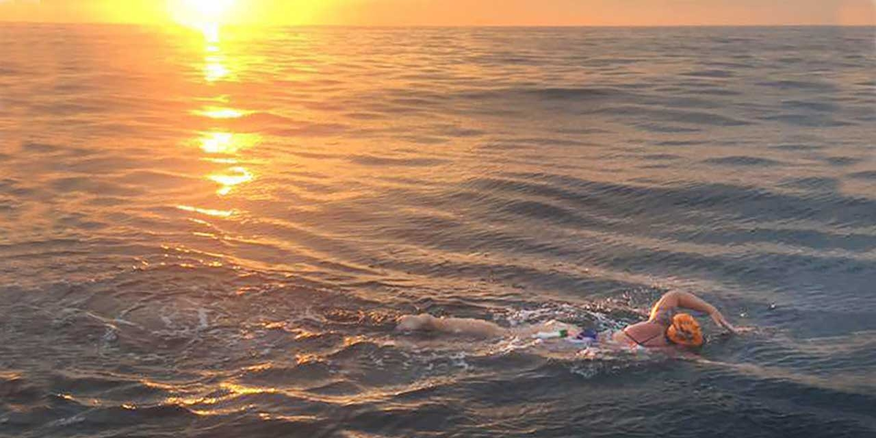 Ceallach Gibbons '17 Swims the English Channel to Help Raise Awareness of Sexual Violence
