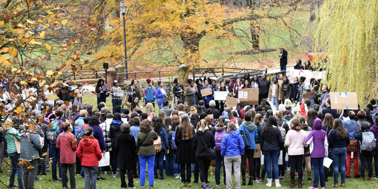 Wellesley and Babson Students Join Forces to Stand Against Hate