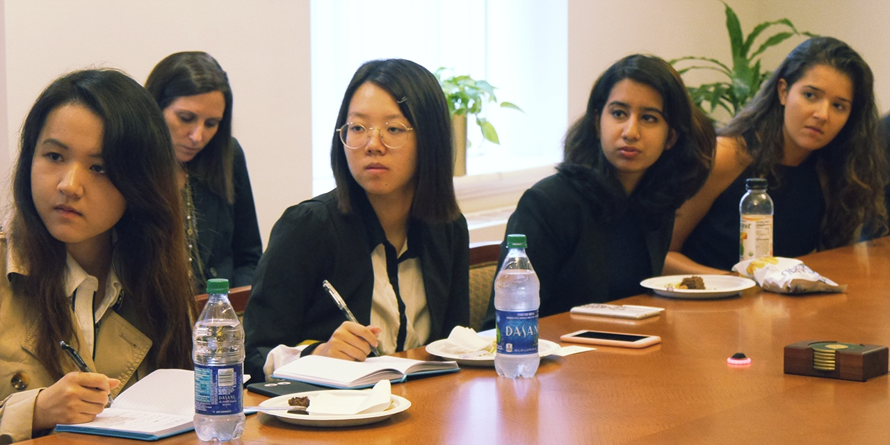 Students from around the world participate in Wellesley's Contemporary Women's Leadership program