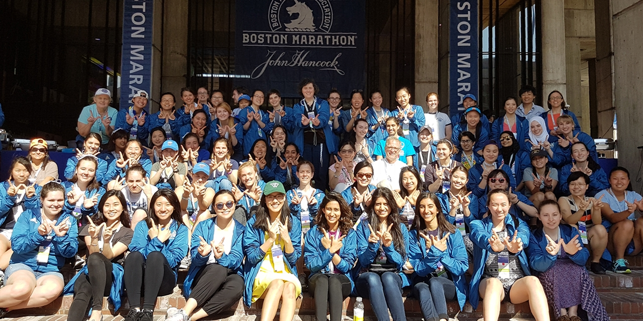 2017 Wellesley alumnae and student volunteers