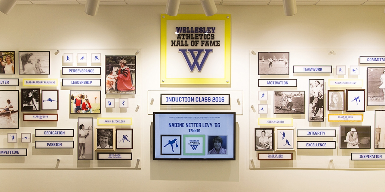 Wellesley Inducts Four New Members into the Athletics Hall of Fame
