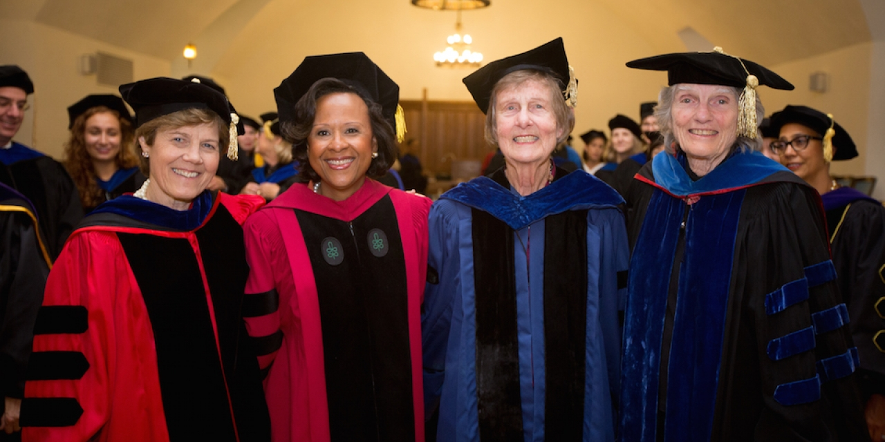 Four Wellesley Presidents