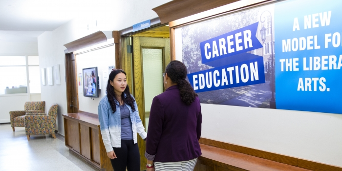 Career education: a model for the liberal arts
