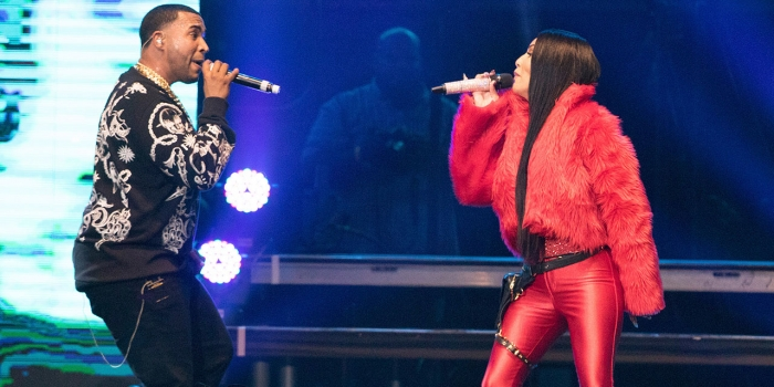 reggaeton performers Ivy Queen and Don Omar