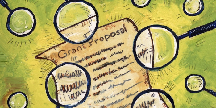 grant proposal painting by Brian Taylor