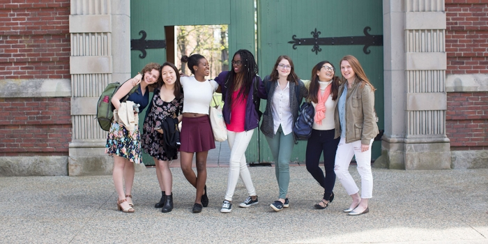The College welcomed 315 prospective students for Discover Wellesley Weekend this year.