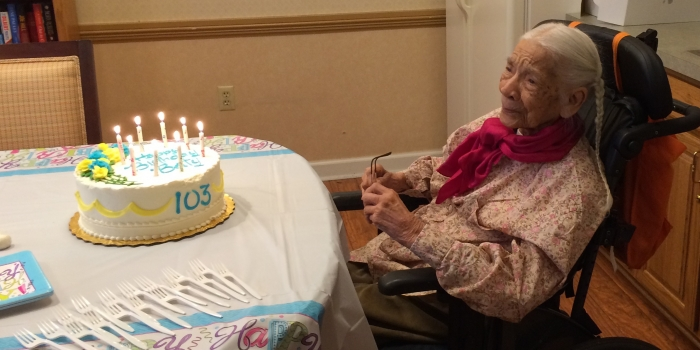 Elizabeth Neill Banton '34 Celebrates Her 103rd Birthday