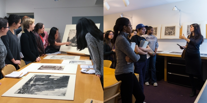 Spotlight on Teaching: Two Art History Classes Collaborate on an Innovative Website
