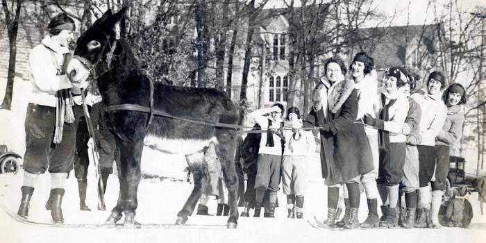Winter Scenes at Wellesley