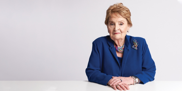 A portrait of Madeleine Albright