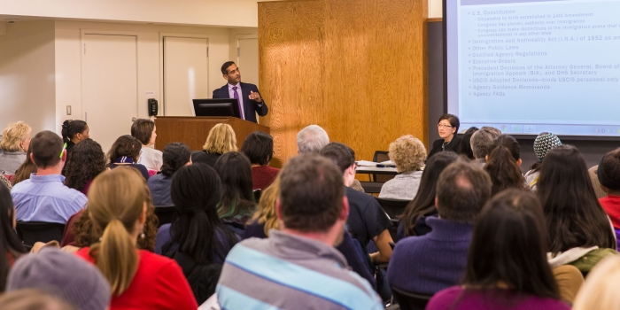 Town Hall Meeting on U.S. immigration law