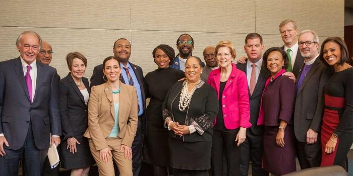 Leaders at the MLK Breakfast in Boston