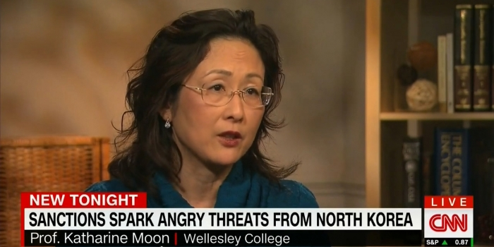 Katharine Moon on CNN