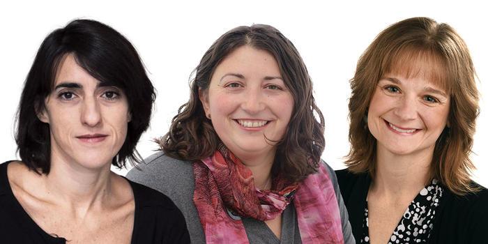 Daniela Rivera, Amy Banzaert, Angela Bahns