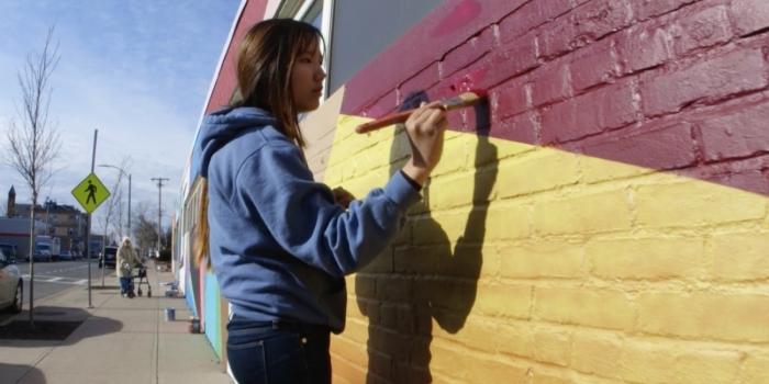 Allston Commissions Wellesley Art Professor to Create Outdoor Mural