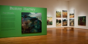 "Art Exhibit, ""Bunny Harvey: Four Decades"" displayed in the Davis Museum Gallery"