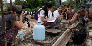 Jalena Keane-Lee '17 films a documentary in Yangon, Myanmar
